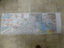 Old Road Map - Virginia - Official State Highway - 1991 - Good Condition