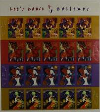 US SCOTT 3939 - 3942 PANE OF 20 LET'S DANCE STAMPS 37 CENT FACE MNH