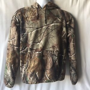 Redhead Sz S Real Tree Camouflage Hoodie Pullover Outdoors Hunting Camo Jacket