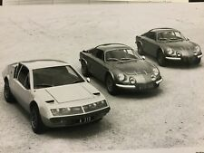 Superbe Lot Presse 1975 ALPINE RENAULT !!!