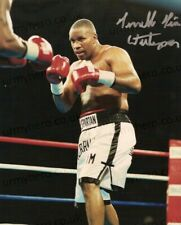 Tim Witherspoon HAND SIGNED 10x8 Boxing Champion Photograph *IN PERSON* COA