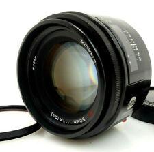 Minolta Af Lens 50mm f1, 4 1772754 Md Autofocus Mount sony Alpha jw148