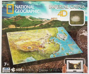 NATIONAL GEOGRAPHIC 600+ puzzle IMPERIAL CHINA 4d cityscape time PUZZLE 61006