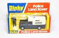 Dinky 277 Police Land Rover In Its Original Box - Near Mint Vintage Original