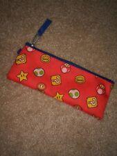 Nintendo Super Mario Pencil Pouch Make Up Bag Pen Pouch