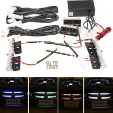 New LED Flashing lights Warning Grill Lights Bar Recovery Breakdown 12V