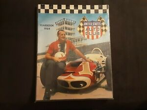 united states auto club yearbook 1964 aj foyt vintage