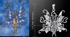 Blue Fairy Pendant by Amy Brown Just Like Silver fantasy artist Peter Stone