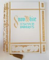 Disney Store Snow White and the Seven Dwarfs A4 Replica Journal Notepad