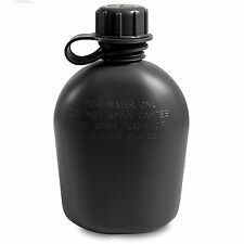 US Army GI Military Cadet Camping Hiking Plastic Drinks Water Bottle Canteen NEW
