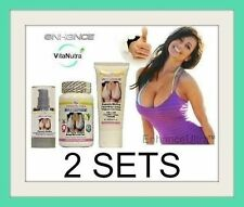 2x Enhance Ultra Breast Enlargement Pills Cream Serum Combo  Bust Enhancement