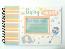 NEW Baby Shower Scrapbook Photo Insert Album Party Gift Pregnancy Keepsake