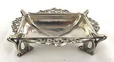 Omar Ramsden Sterling Silver Salt Cellar Dish Arts & Crafts London 1931