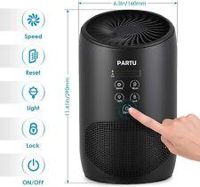 Partu Hepa Air Pu 00004000 rifier-Smoke Air Purifiers for Home with Fragrance Sponge Bs03