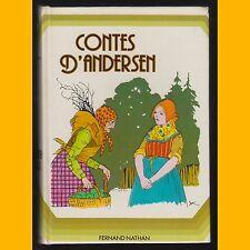 CONTES D'ANDERSEN Adaptation Gisèle Vallerey 1978