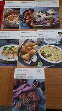 7 Waitrose recipe cards - all October 2012