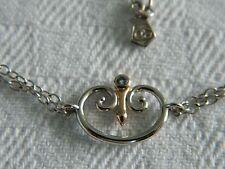 Clogau Silver & Welsh Gold Kensington London Blue Topaz Bracelet RRP £119.00