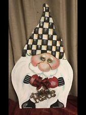 My Whimsy Gnome With Mackenzie Childs Napkin!