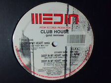 "CLUB HOUSE Deep in my heart remix 12"" RARISSIMO ITALO ZONE"