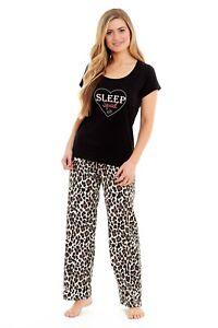 Habigail Ladies Pyjamas Loungewear Womens Pjs Top & Bottoms Sleep Nightwear