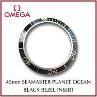 ΩΩ OMEGA Seamaster Planet Ocean Black Bezel Insert For 45mm Models Swiss Made ΩΩ