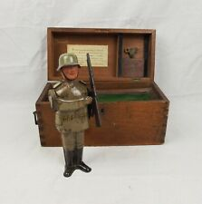 WW2 Era German Tinplate Clockwork Soldier Toy