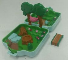 Vintage 1997 Pokemon Compact Playset Tomy Polly Pocket Viridian Forest