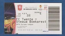 Orig.Ticket  Europa League  2011/12   TWENTE ENSCHEDE - STEAUA BUKAREST  !!