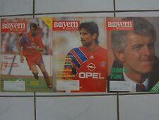 3 FCB Bayern München Magazin-e 43. Jhg. Nr.: 7 / 10 / 17 1991 / 1992