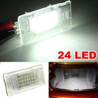 24 LED Interior Luggage Trunk Boot Light Glove Box Lamp For BMW E90 E92 E66