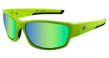 559f21c367a Dirty Dog Chain Sunglasses Fluro Green Fusion Mirror Polarised Neon 58071