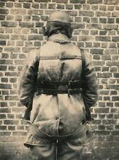 Foto auf Pappe - Luftschiffer Fallschirmspringer in kompletter Montur - 1.WK (2)