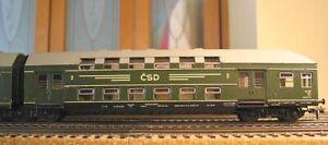SCHICHT HO 1108/1109 CSD CESKOSLOVENSKE STATNY DRAHY 6-UNIT ARTICULATED CAR SET