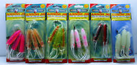 Neptune Arrow Jig Pre-tied jigging rigs Squid soft plastic lure. Small or large,