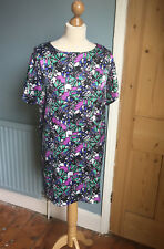 Lovely polyester shift dress by Top shop size 10