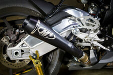 M4 Exhaust BMW S1000RR 2015 2016 2017 GP Mount slip on with BLACK muffler