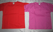 2 piece Trix V Neck Scrub Tops with Bottom Pockets Size Xs