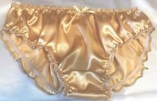 """🌸 MADE TO ORDER* Plain """"SATIN SISSY KNICKERS ..any size.. any colour .🌸"""