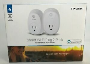 NEW (2 PACK) TP-LINK HS110 Smart Wi-Fi Plug w/Energy monitoring