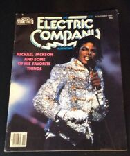 Michael Jackson on cover November 1984 Electric Company Magazine Vintage RARE