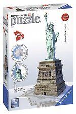 Ravensburger 125845 - Statua di L' libertà -Puzzle 3D, 108 pezzi