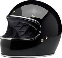 Biltwell Gringo ECE Gloss Black Full Face Motorcycle Helmet