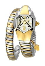 Just Cavalli Women's JC1L001M0165 JC DNA Two-Tone IP Stainless Steel Wristwatch