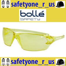 1x Bolle Safety Glasses - Prism - Amber (Yellow) Lens