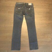 True Religion Billy Distressed Stretch Denim Jeans RN#112790 Woman's Size 27
