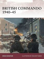 Osprey Publishing Warrior British Commando 1940-45