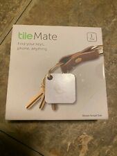 New listing Tile Mate Blue Tooth Tracker Keys Phone Wallet Anything Finder - New 1-Pack