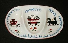 Stangl Pottery Kiddieware Train Child's 3 Part Bowl/Dish