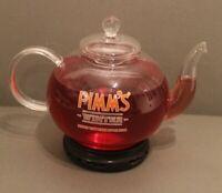 Pimm's Glass Winter Teapot