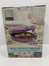 Homemade Mini Donut Maker